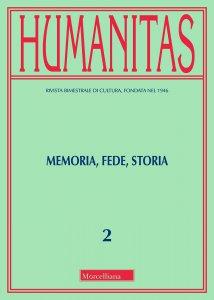 Copertina di 'Humanitas. 2/2018: Memoria, fede, storia'
