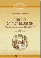 Pontifici sit musa dicata Pio - Arrivabene Giovanni Pietro