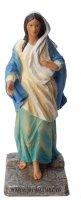 """Statua in resina colorata """"Maria di Nazareth"""" - altezza 20 cm"""