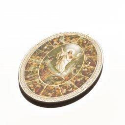 """Copertina di 'Icona ovale """"Via Crucis"""" - dimensioni 14,5x10,5 cm'"""