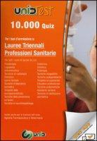 10.000 quiz per i test d'ammissione a lauree triennali professioni sanitarie. Con aggiornamento online