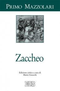 Copertina di 'Zaccheo'