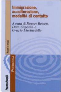 Copertina di 'Immigrazione, acculturazione, modalità di contatto'