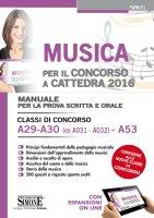 Musica per il Concorso a Cattedra 2016 - Redazioni Edizioni Simone