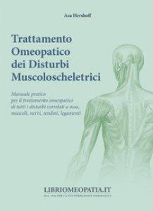 Copertina di 'Trattamento omeopatico dei disturbi muscoloscheletrici'