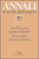Annali di storia dell'esegesi (2011)
