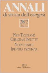 Copertina di 'Annali di storia dell'esegesi (2011)'