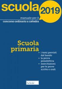 Copertina di 'Manuale per il concorso ordinario a cattedra 2019'