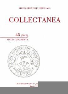 Copertina di 'Collectanea 45-2012. Studia-Documenta'