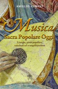 Copertina di 'Musica sacra popolare oggi'