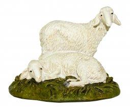 Copertina di 'Gruppo di pecore Linea Martino Landi - presepe da 16 cm'