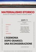 Materialismo storico. Rivista di filosofia, storia e scienze umane (2017)
