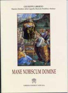 Copertina di 'Mane Nobiscum Domine'