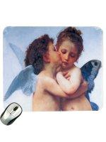 """Mousepad """"Il primo bacio"""" - William Bouguereau"""