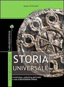 Copertina di 'Storia universale'
