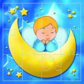 """Mini puzzle """"Angelo e luna"""" (12 pezzi)"""