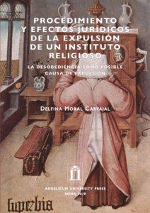 Copertina di 'Procedimiento y efectos jurídicos de la expulsión de un instituto religioso'