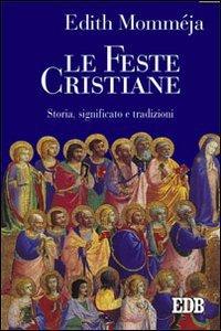 Copertina di 'Le feste cristiane'