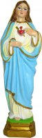 Statua Sacro Cuore di Maria da 12 cm in confezione regalo con immaginetta di  su LibreriadelSanto.it