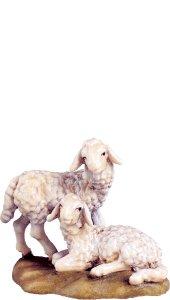 Copertina di 'Gruppo agnelli D.K. - Demetz - Deur - Statua in legno dipinta a mano. Altezza pari a 10 cm.'
