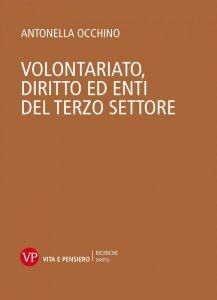 Copertina di 'Volontariato. Diritto ed enti del terzo settore'