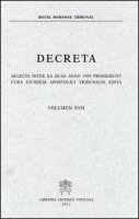 Decreta - Rotae Romanae Tribunal