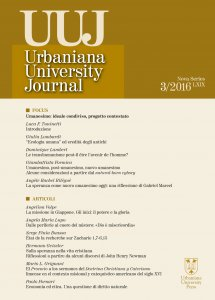 Copertina di 'Urbaniana University Journal'