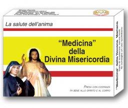 Copertina di 'La medicina della divina misericordia'