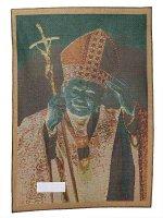 """Immagine di 'Arazzo sacro """"San Giovanni Paolo II benedicente"""" - dimensioni 65x46 cm'"""