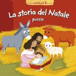 Copertina di 'La storia del Natale - puzzle'