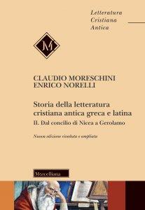 Copertina di 'Storia della letteratura cristiana antica greca e latina'