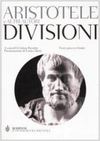 Divisioni. Testo greco a fronte - Aristotele