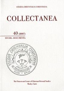 Copertina di 'Collectanea 40-2007. Studia-Documenta'