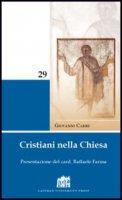 Cristiani nella Chiesa - Carrù Giovanni