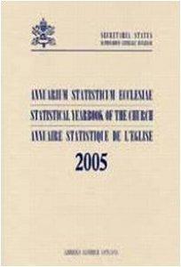 Copertina di 'Annuarium Statisticum Ecclesiae 2005'
