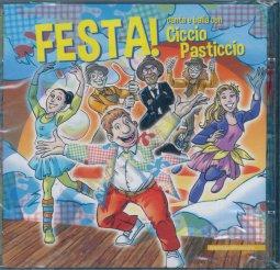 Copertina di 'Festa! Canta e balla con Ciccio Pasticcio'
