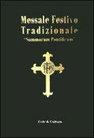 Messale festivo tradizionale - Aa. Vv.