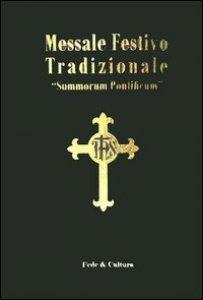 Copertina di 'Messale festivo tradizionale'