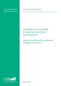 Copertina di 'Confier une paroisse à une collectivité associative'