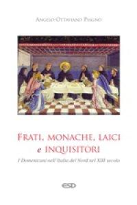 Copertina di 'Frati, monache, laici e inquisitori'