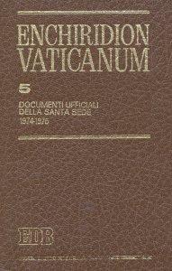 Copertina di 'Enchiridion Vaticanum. 5'