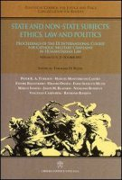 State and non-state subjects: ethics, law and politics