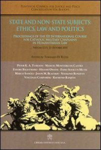 Copertina di 'State and non-state subjects: ethics, law and politics'