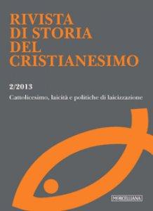Copertina di 'Rivista di storia del cristianesimo (2013) vol.2'