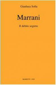Copertina di 'Marrani. Il debito segreto'