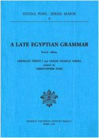 Late egyptian grammar (A) - Cerný Jaroslav, Groll Sarah I.
