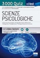 EdiTEST. Scienze psicologiche. 3000 quiz. Ampia raccolta di quesiti tratti da prove reali e 10 simulazioni d'esame per la preparazione ai test di accesso. Con Contenuto digitale (fornito elettronicamente)