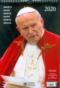 Copertina di 'Calendario 2020. Santo Giovanni Paolo II'