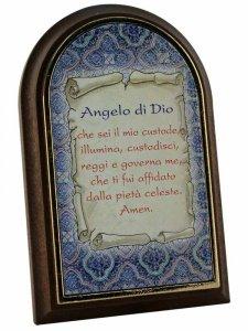"""Copertina di 'Iconcina bomboniera """"Angelo di Dio""""'"""