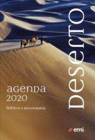 Agenda biblica missionaria 2020 - dimensioni cartonata con elastico 21x15 cm